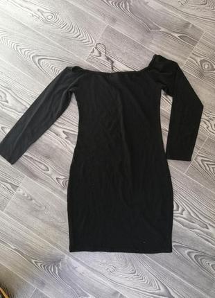 Чорне плаття міні