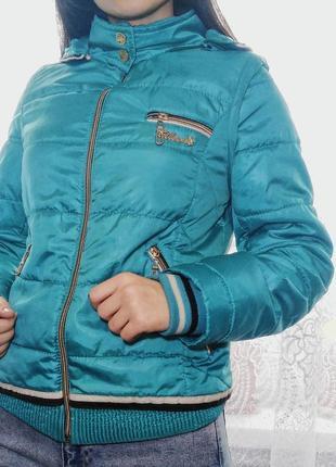 Куртка-жилетка 2в1 +капюшон