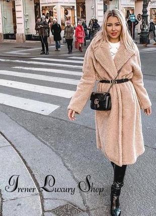 Нюдовое пальто шубка от zara s-m-l полный восторг