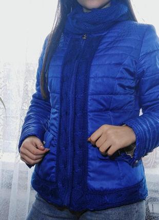 Весенння/осенняя куртка с хомутом