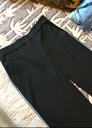 Mango, штаны, брюки классические с лампасами