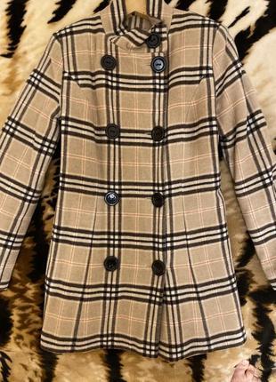 Пальто из шерсти xs