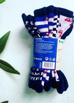 Набор из 5 махровых носочков,носков, lupilu