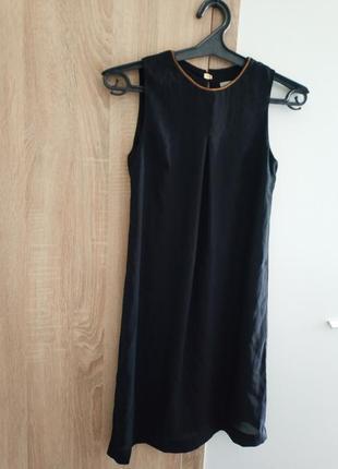 Платье шифон вечернее легкое колое украшение бучины карандаш футляр