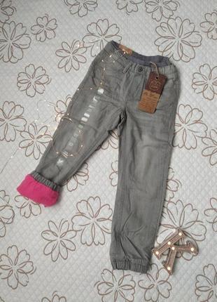 Нові джинси утеплені штани
