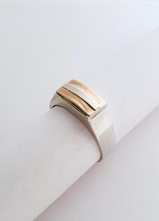 Серебряный мужской перстень,печатка,кольцо