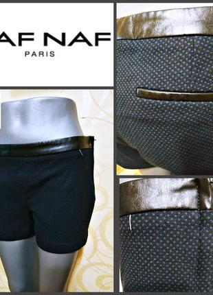 Короткие шорты от французкого  люкс бренда naf naf ( 44.99€), оригинал р.38