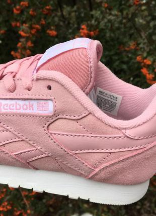 кроссовки рибок фото розовые