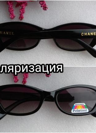 Новые брендовые очки с поляризацией, черные