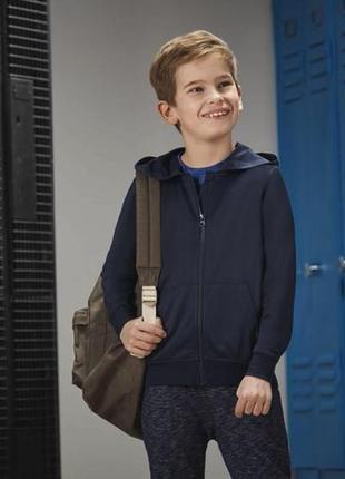 Легкая спортивная кофта с начесом для мальчика crivit германия
