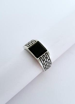 Серебряная мужская печатка,перстень, кольцо