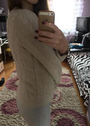 Пуловер на пуговицах2