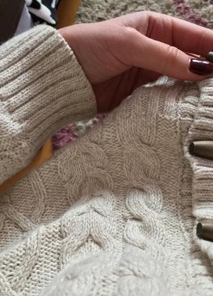 Пуловер на пуговицах3