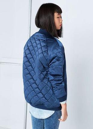 Тёплый бомбер куртка bershka1