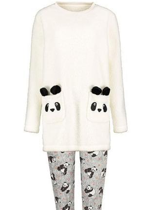 Тёплая пижама панда george