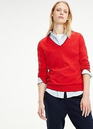 Шерстяной свитер с кашемиром tommy hilfiger