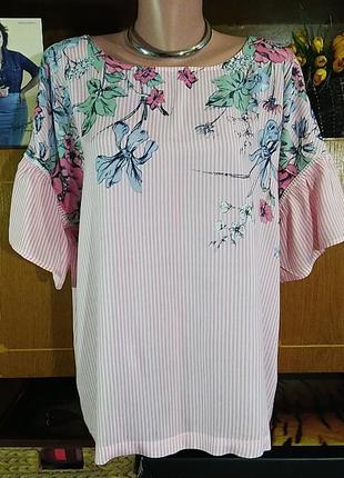 Летняя натуральная блузка