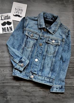 Офигенный джинсовый пиджак next 4-5года