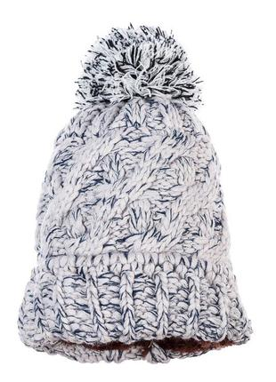 Распродажа шапок, вязаная серо-сизая шапка, серая вязаная шапка