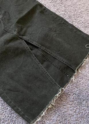 Джинсовая юбка миди3 фото