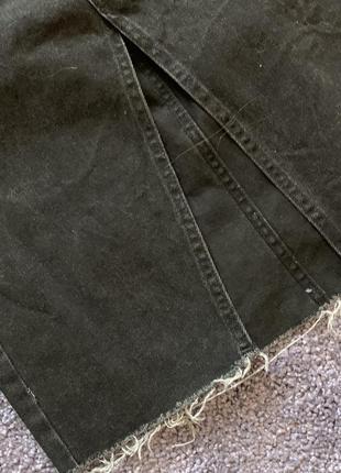 Джинсовая юбка миди4 фото