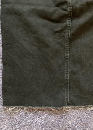 Джинсовая юбка миди6 фото