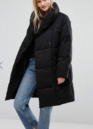 Крутое и теплое oversize-пальто от asos monki2