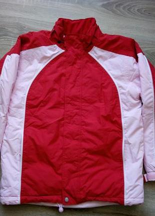 Подростковая лыжная куртка на девочку