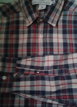 Коттоновая рубашка s  38