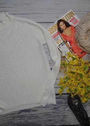 10/м обалденно модный женский свитер джемпер водолазка гольф моднице с косами