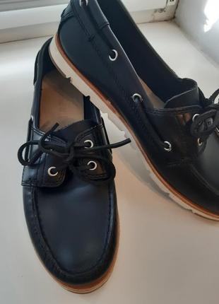 Топсайдеры туфли  мокасины timberland