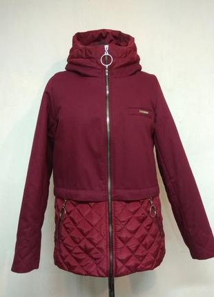 Демисезонная куртка парка.