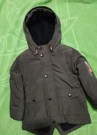 Куртка парка rebel