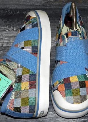 Keen ! оригинальные, стильные, надежные кеды-кроссовки с усиленным носком