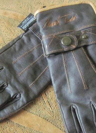 Кожаные перчатки xsр. thinsulate