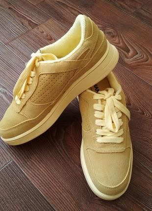 Крутые женские замшевые кроссовки сникерсы кеды 37, 38, 39 mango оригинал