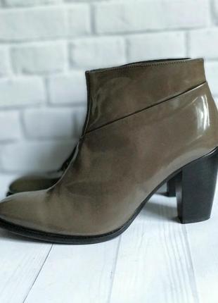 40р кожа!новые италия  minelli,лаковые, деми ботинки