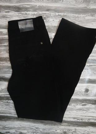 Супер прямые джинсы черного цвета брюки 30/l -31/l