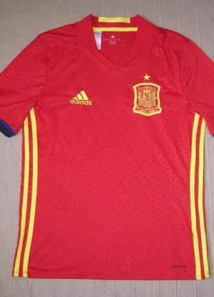 Adidas climacool (164) футбольная форма футболка детская испания