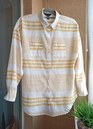 Красивая стильная блуза свободного силуэта из натуральной ткани 100% котон