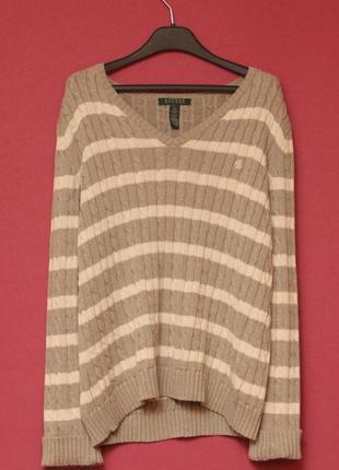 Polo ralph lauren l wmns свитер из хлопка и полиестера