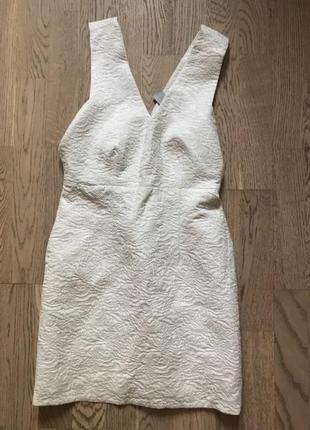 Платье фактурное сарафан карандаш футляр