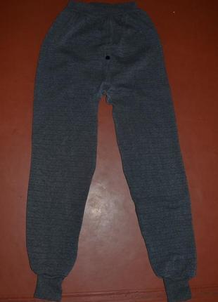 Мужское тёплое ( на флисе ) термобелье-брюки/штаны