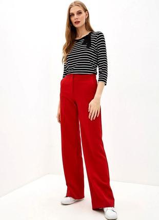 Шикарные брюки betty barclay, цвет теракот