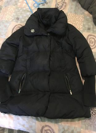 Брендове пухове пальто/ куртка пуховая