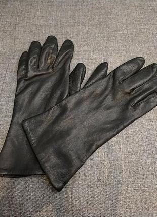 Мягусенькие кожаные перчатки