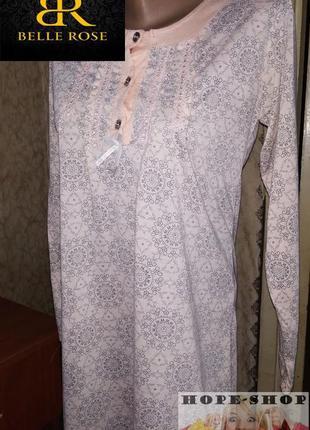 💞домашнее нежное платье -футболка,ночная рубашка,сорочка 6/10