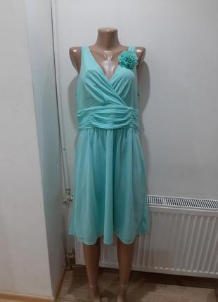 Коктейльное платье esprit новое с биркой мята