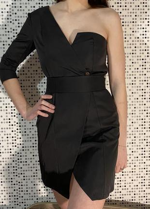 Чёрное платье5 фото