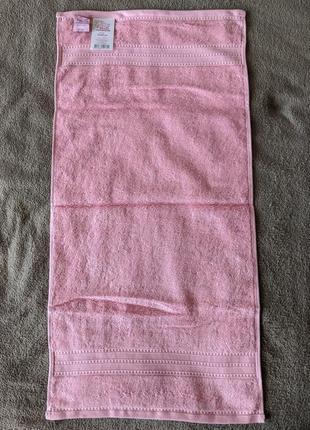 """Махровое полотенце приятного розового цвета """"магія комфорту"""""""